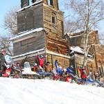 Прогулки на снегоходах