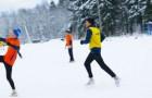 Футбол на снегу